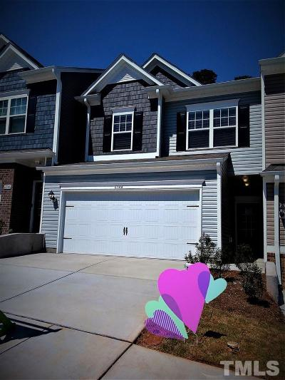 Raleigh Townhouse For Sale: 6344 Grace Lily Drive #35