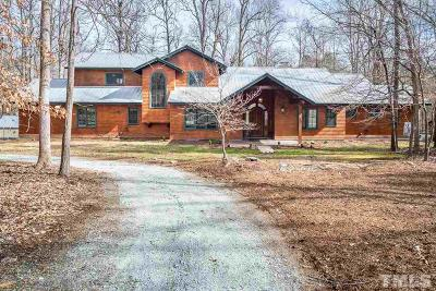 Durham County, Franklin County, Granville County, Guilford County, Johnston County, Lee County, Nash County, Orange County, Wake County Single Family Home For Sale: 3919 Carrington Lane