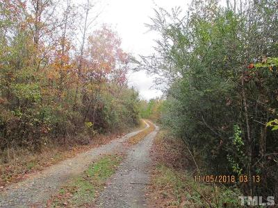 Durham County, Franklin County, Granville County, Guilford County, Johnston County, Lee County, Nash County, Orange County, Wake County Residential Lots & Land For Sale: 1627 Sanders Road
