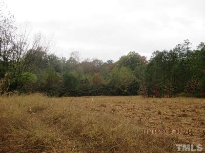 Granville County Residential Lots & Land For Sale: 1619 Sanders Road