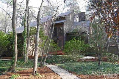 Cary Single Family Home Contingent: 104 Duryer Court
