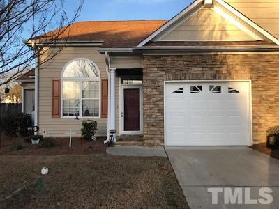 Harnett County Townhouse For Sale: 42 Old Trestle Court