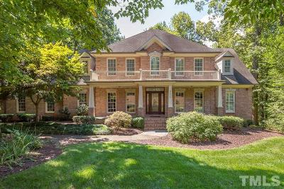 Wake Forest Single Family Home Pending: 8605 Timberland Drive
