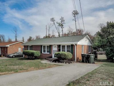 Raleigh Single Family Home For Sale: 1308 Marlborough Road