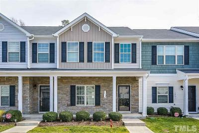 Raleigh Townhouse For Sale: 5419 Big Bass Drive