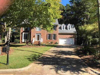 Raleigh Single Family Home For Sale: 9108 Kettner Court