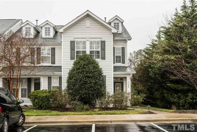 Cary Townhouse For Sale: 2023 Rapid Falls Road
