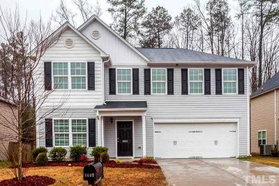 Raleigh Single Family Home Contingent: 6604 Horseback Lane