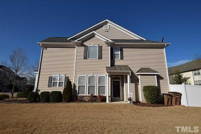 Wake Forest Townhouse For Sale: 9900 Precious Stone Drive