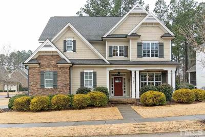 Wake Forest Single Family Home For Sale: 1017 Rose Angel Circle