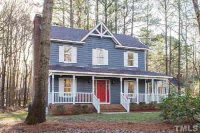 Raleigh Single Family Home Contingent: 4825 Mial Plantation Road