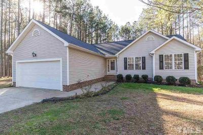 Youngsville Single Family Home Contingent: 35 Monarch Court