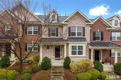 Cary Townhouse For Sale: 1117 Weston Green Loop