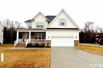 Johnston County Rental For Rent: 188 Cherry Bark Loop