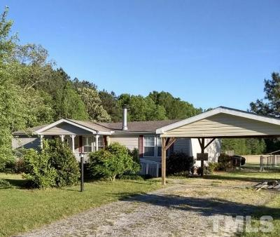Zebulon Single Family Home For Sale: 246 Rice Road