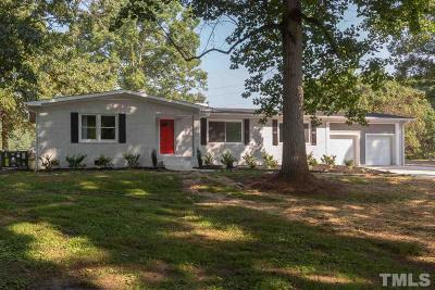 Durham Single Family Home For Sale: 312 Mason Road