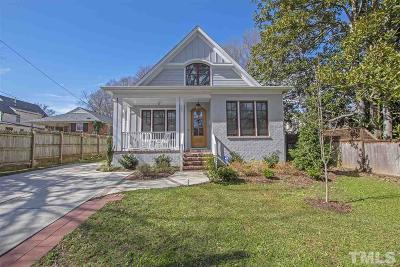 Raleigh Single Family Home Contingent: 221 Gardner Street