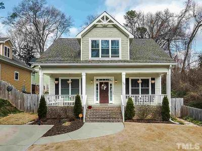 Durham Single Family Home For Sale: 100 W Murray Avenue