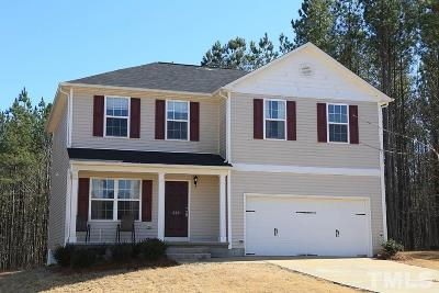 Clayton NC Single Family Home For Sale: $193,000
