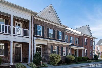 Raleigh Townhouse For Sale: 513 Dragby Lane