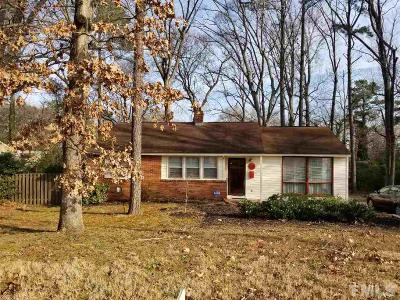 Raleigh Single Family Home For Sale: 513 Banks Street