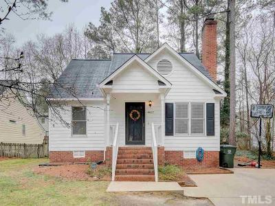 Raleigh Single Family Home Pending: 4617 Thurmount Place