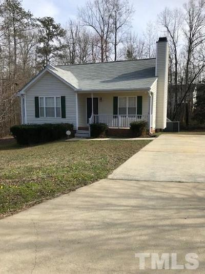 Holly Springs Rental For Rent: 812 Stinson Avenue