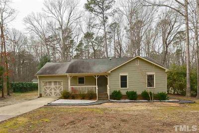 Apex Single Family Home Contingent: 2005 Englewood Drive