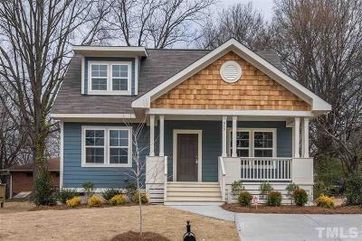 Durham Single Family Home For Sale: 415 Dupree Street