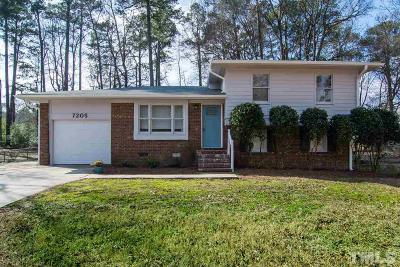 Raleigh Single Family Home For Sale: 7205 Pilgrim Road