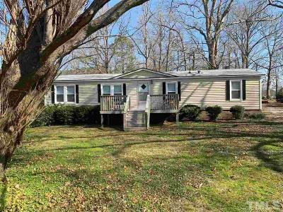 Franklin County Manufactured Home For Sale: 971 Tarboro Road