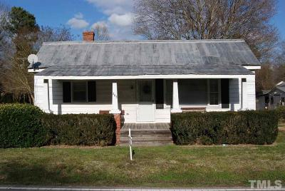 Knightdale Single Family Home Pending: 203 Fayetteville Street