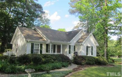 Wake County Rental For Rent: 2908 Tram Road