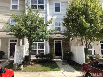 Raleigh Townhouse For Sale: 1221 Canyon Rock Court #106