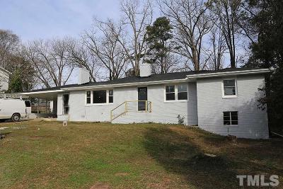 Raleigh Single Family Home For Sale: 2347 Stevens Road