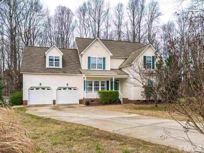 Clayton Single Family Home For Sale: 258 Trenburg Place