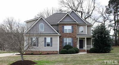 Wake Forest Single Family Home For Sale: 3506 Bluebonnet Drive
