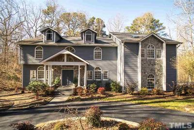 Wake County Single Family Home For Sale: 9805 Pentland Court