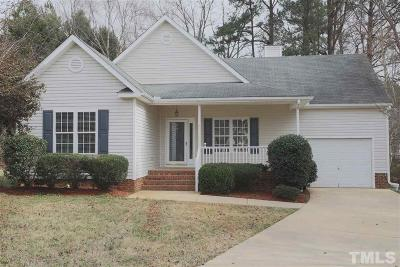 Holly Springs Single Family Home For Sale: 305 Peakhill Road