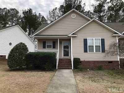 Clayton Rental For Rent: 1826 W Cotton Gin Drive #1826