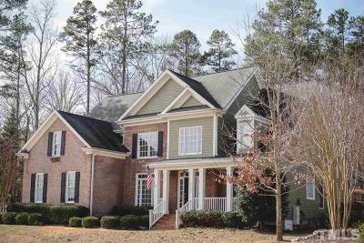 Wake Forest Single Family Home For Sale: 2732 Blue Ravine Road