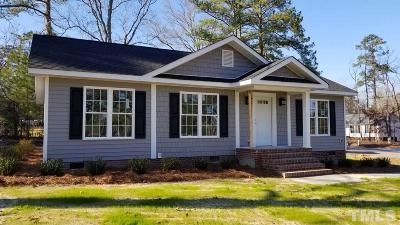 Harnett County Single Family Home For Sale: 1106 S 13th Street