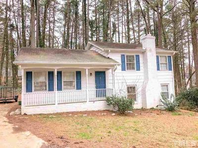 Raleigh Rental For Rent: 1109 Bittersweet Court