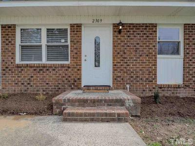 Durham Single Family Home For Sale: 2309 Charles Street