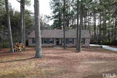Harnett County Single Family Home For Sale: 1329 Delma Grimes Road