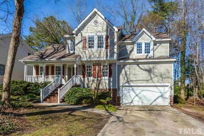 Raleigh Single Family Home Pending: 5317 Bentgrass Drive