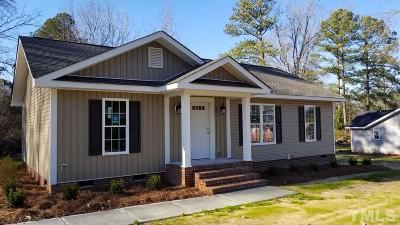 Harnett County Single Family Home For Sale: 1102 S 13th Street