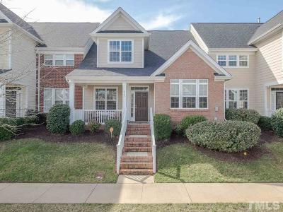 Raleigh Townhouse For Sale: 665 Democracy Street