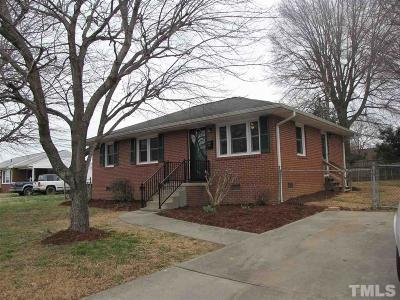 Mebane Single Family Home For Sale: 602 N Fifth Street