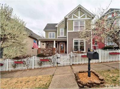 Apex Single Family Home Contingent: 441 Magdala Place